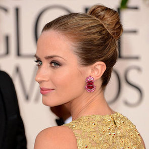 Pictures of Emily Blunt at the 2013 Golden Globes
