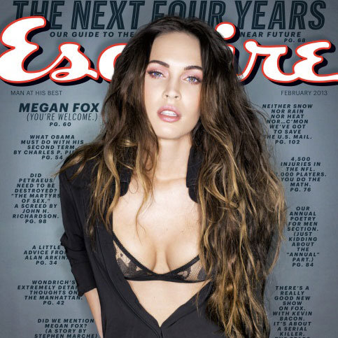 Megan Fox Covers Esquire's February 2013 Issue | Pictures