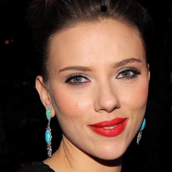Scarlett Johansson's Red Lipstick Look