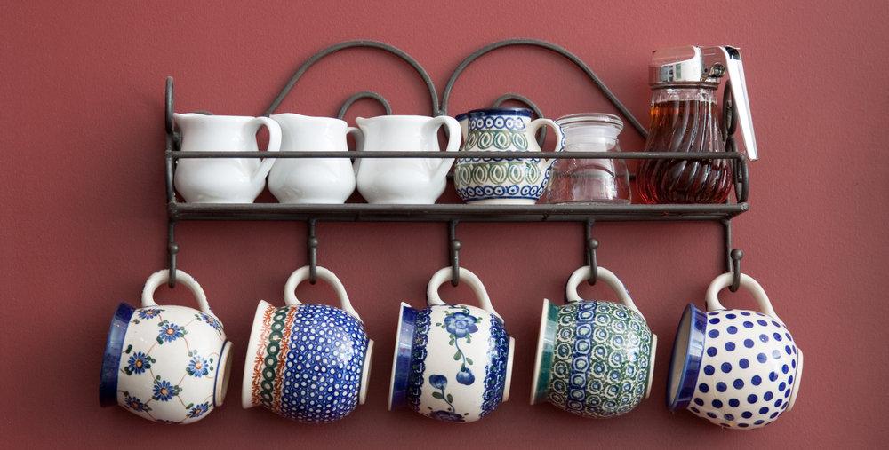 Use a Coat Rack For Teacups