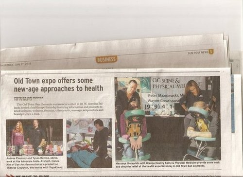Orange County Sun Post pays Recognition to YogaKneez