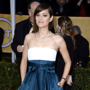 Marion Cotillard Pictures in Dior at 2013 SAG Awards