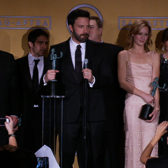 Argo Cast in the SAG Awards Press Room (Video)