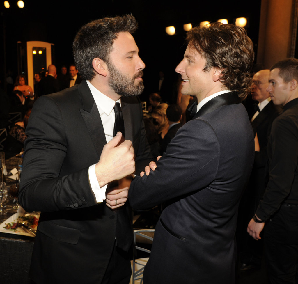 Ben Affleck and Bradley Cooper got into a talk.