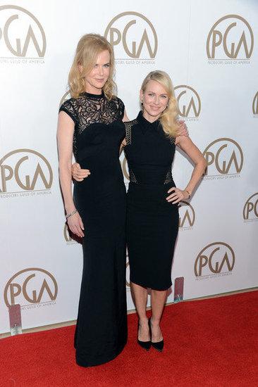 Nicole Kidman and Naomi Watts (24th Annual Producers Guild Awards)
