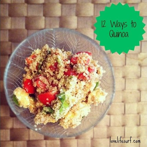 12 Ways to use quinoa