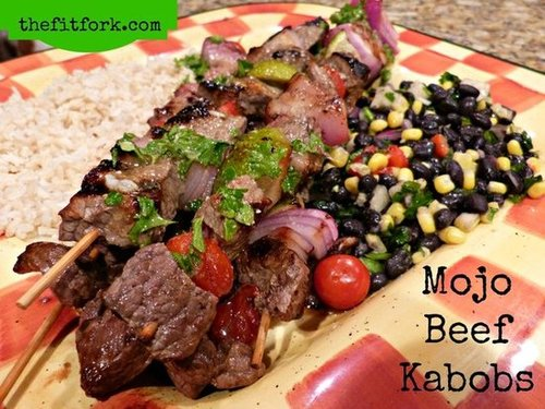 Mojo Beef Kabobs