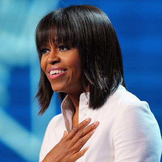 President Obama Says He Loves Michelle's Bangs