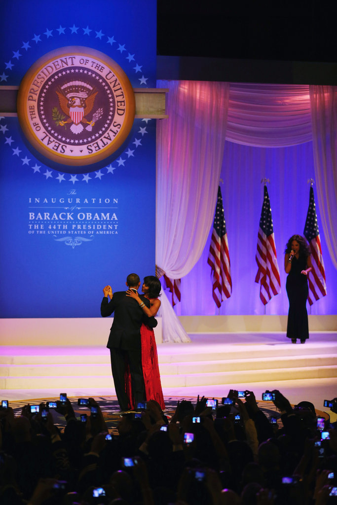 President and First Lady Celebrate With Stars at the Inaugural Ball