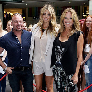 Jennifer Hawkins at Sydney Australia's Next Top Model