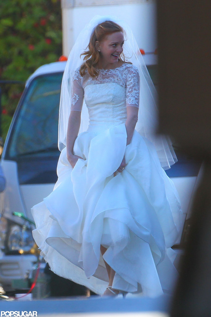 Pictures From an Upcoming Glee Wedding!