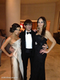 Eva Longoria posed with Ken Paves and Elan Bongiorno before heading off to The Inauguration Ball on Monday night. Source: WhoSay user EvaLongoria