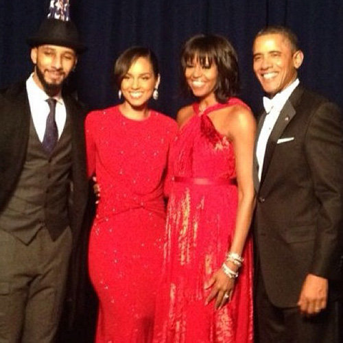 Celebrity Twitter and Instagram Pictures 2013 Inauguration