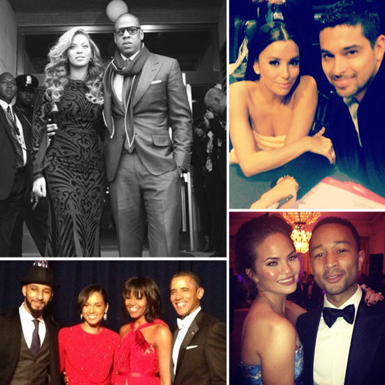 Celebrities Share Behind-the-Scenes Inauguration Party Pictures