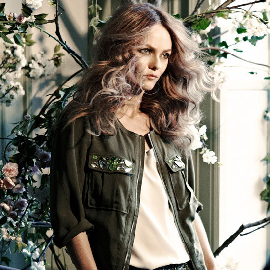 Vanessa Paradis was named the new face of H&M's eco-friendly line, Conscious.