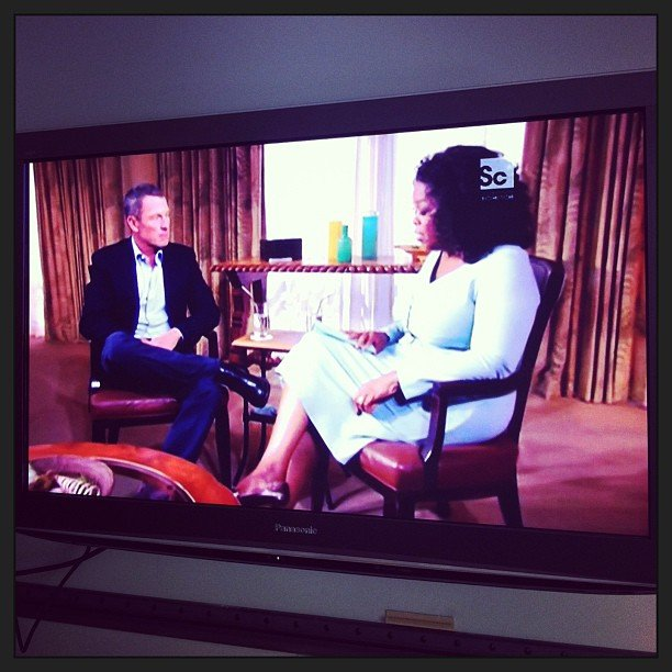 We were all pretty transfixed by this now-infamous interview between Oprah and Lance Armstrong — not to mention blown away by what he had to say!