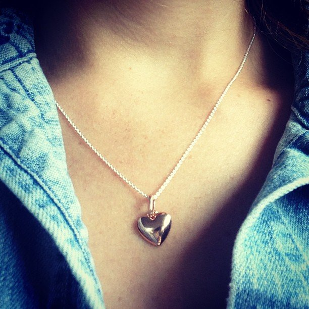We heart Ali's mixed metal (rose gold and silver) necklace from Thomas Sabo.