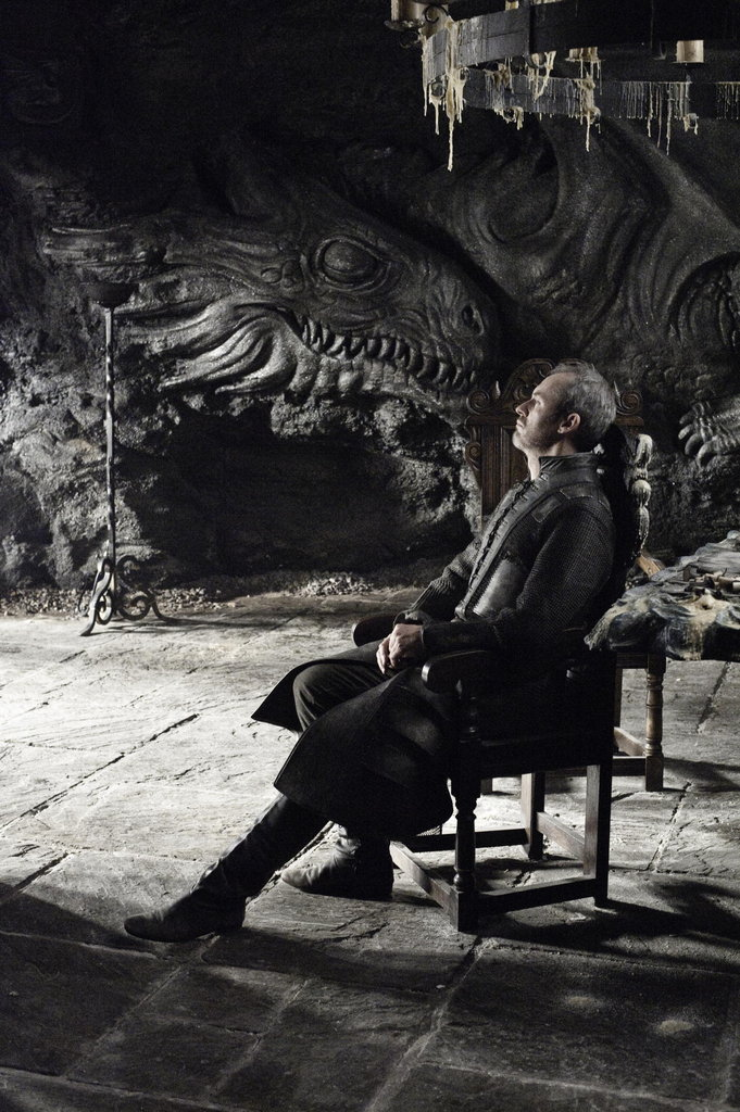 Stannis Baratheon (Stephen Dillane) tries to figure out his next move.