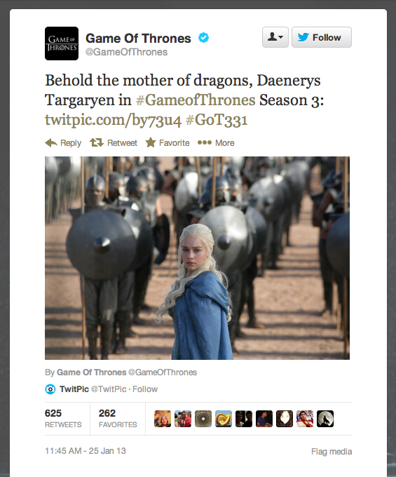 How excited are you for the Game of Thrones season-three premiere on March 31?