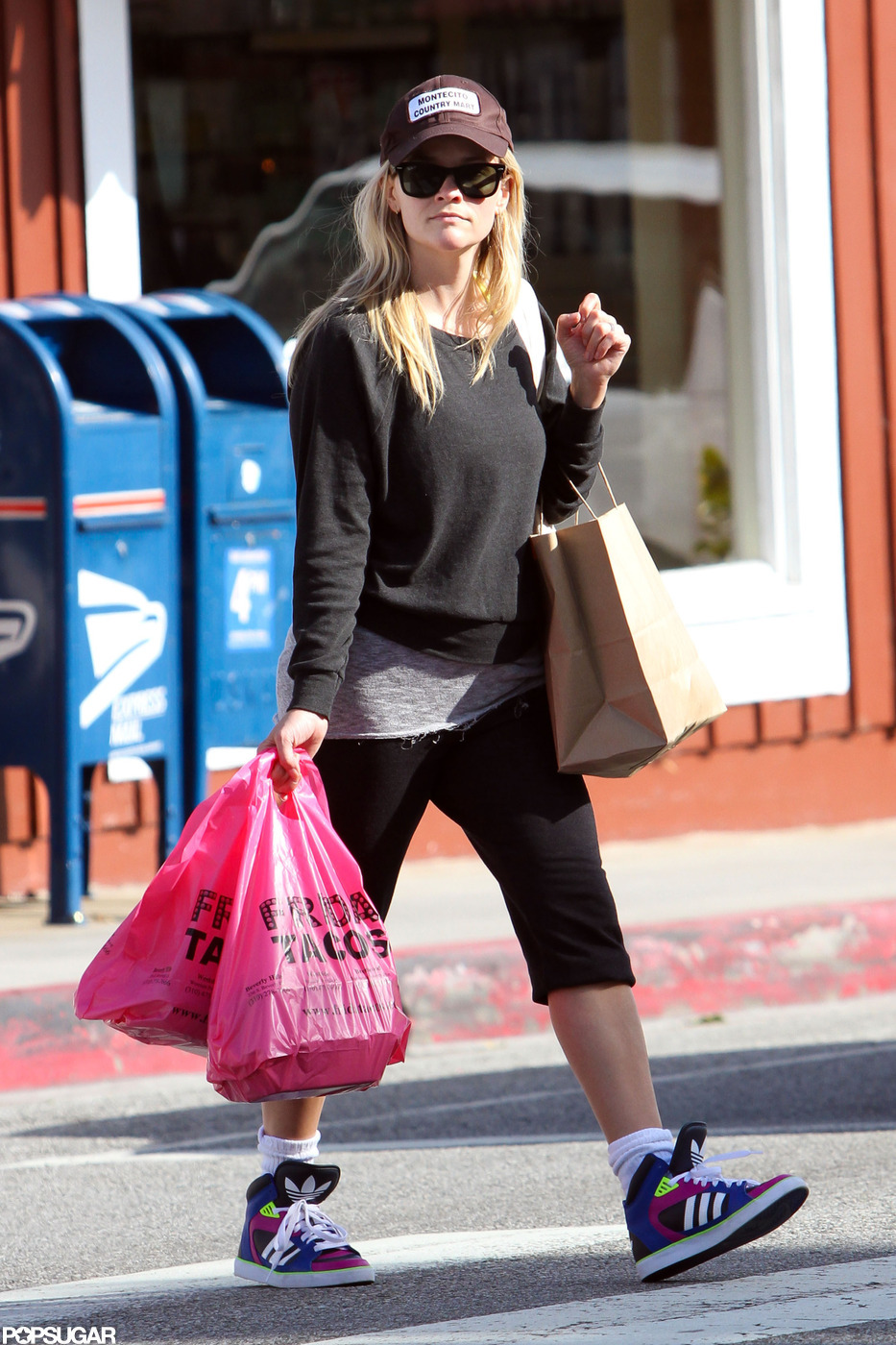 Reese Witherspoon picked up takeout in LA.