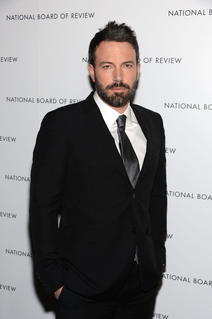 Ben Affleck suited up for the National Board of Review Gala in NYC.