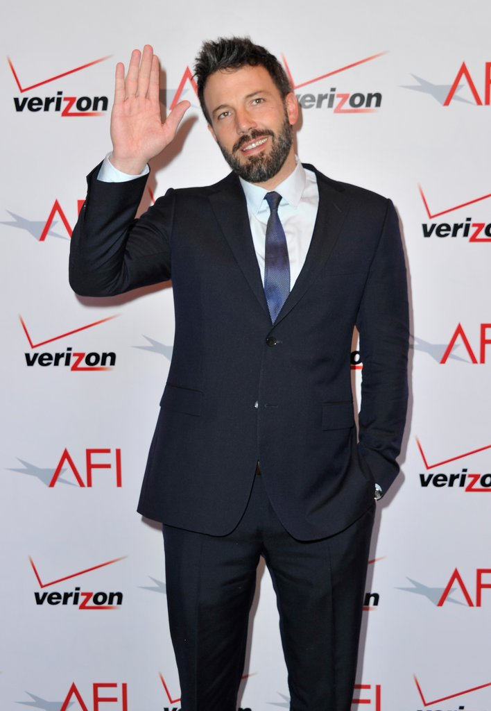 Ben Affleck waved to the cameras at the AFI Awards.