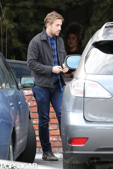 Ryan Gosling had lunch in Los Feliz.