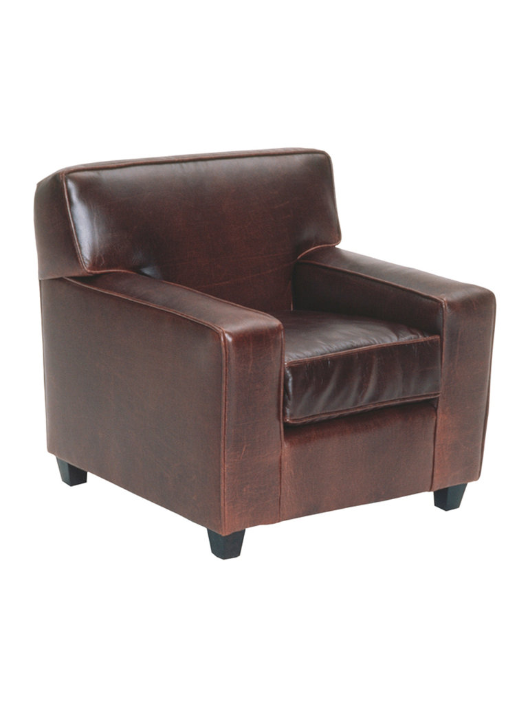 Mitchell Gold + Bob Williams Luc Leather Kids Chair