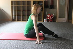 Wall Ab Exercise From Pure Barre