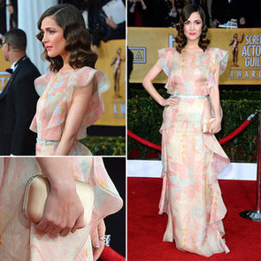 See Rose Byrne in Floral Valentino at the 2013 SAG Awards