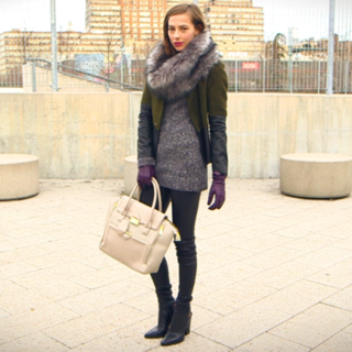 How to Layer Clothes (Winter 2013)