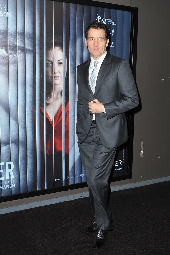 Clive Owen premiered Shadow Dancer.