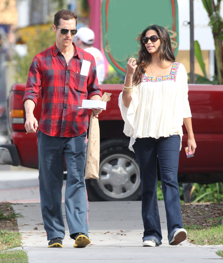Matthew and Camila Fit In Couple's Time on Her Big Birthday