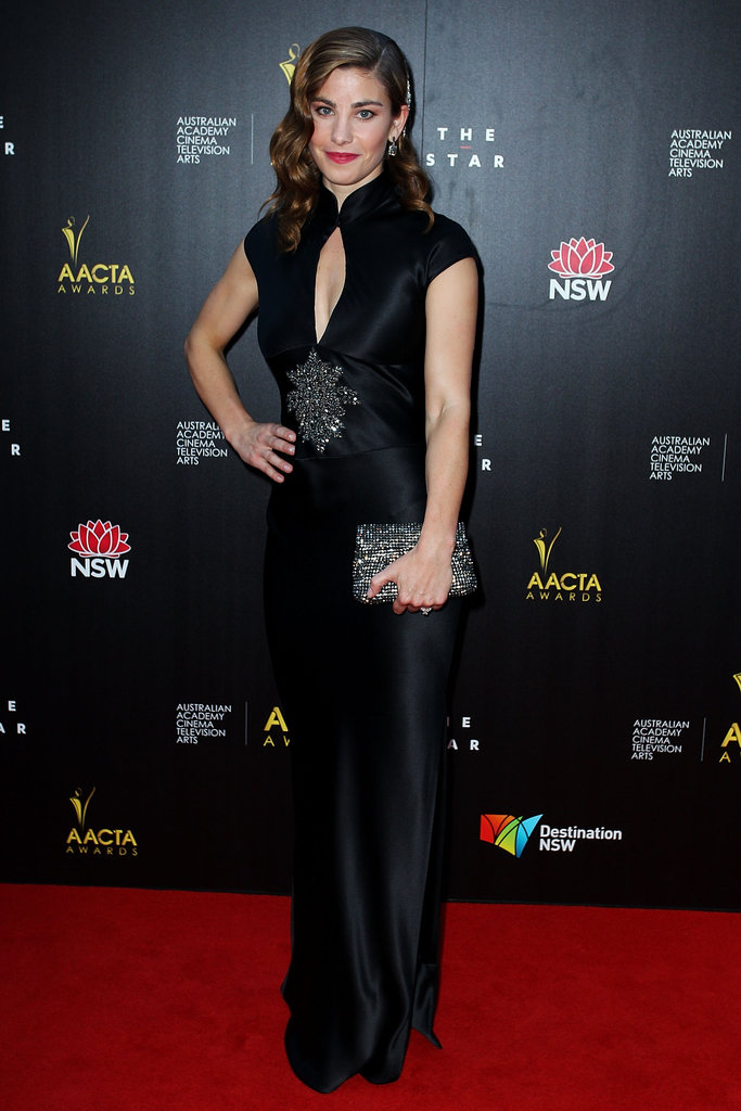 Brooke Satchwell looked lovely at the AACTA Awards on Wednesday.
