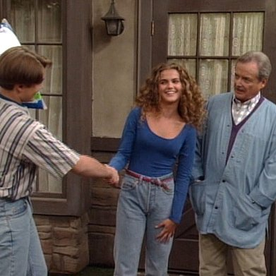 Keri Russell on Boy Meets World