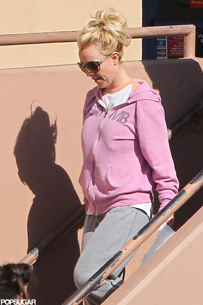 "Britney Spears Hits the Studio to Record ""a New Song For My Boys"""