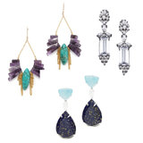 Coral, Jade, Stone, Diamond: Beautiful Drop Earrings To Shop