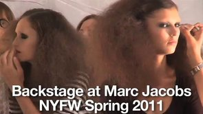 Preview - Backstage at Marc Jacobs - NYFW Spring 2011