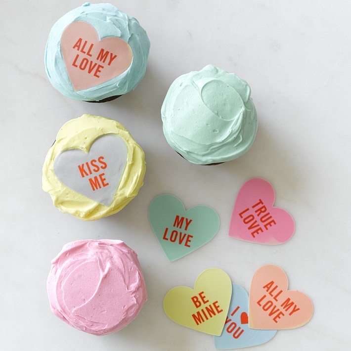 Williams-Sonoma Valentine Cupcake Toppers