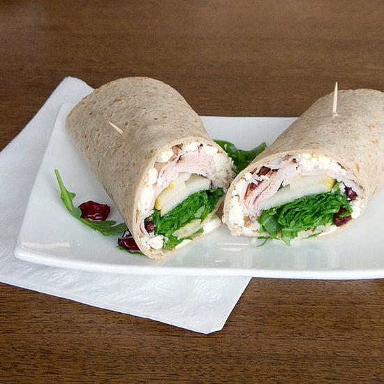 Winter Turkey Wrap Sandwich