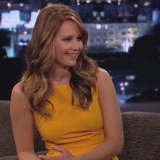 Jennifer Lawrence Interview on Jimmy Kimmel Live (Video)