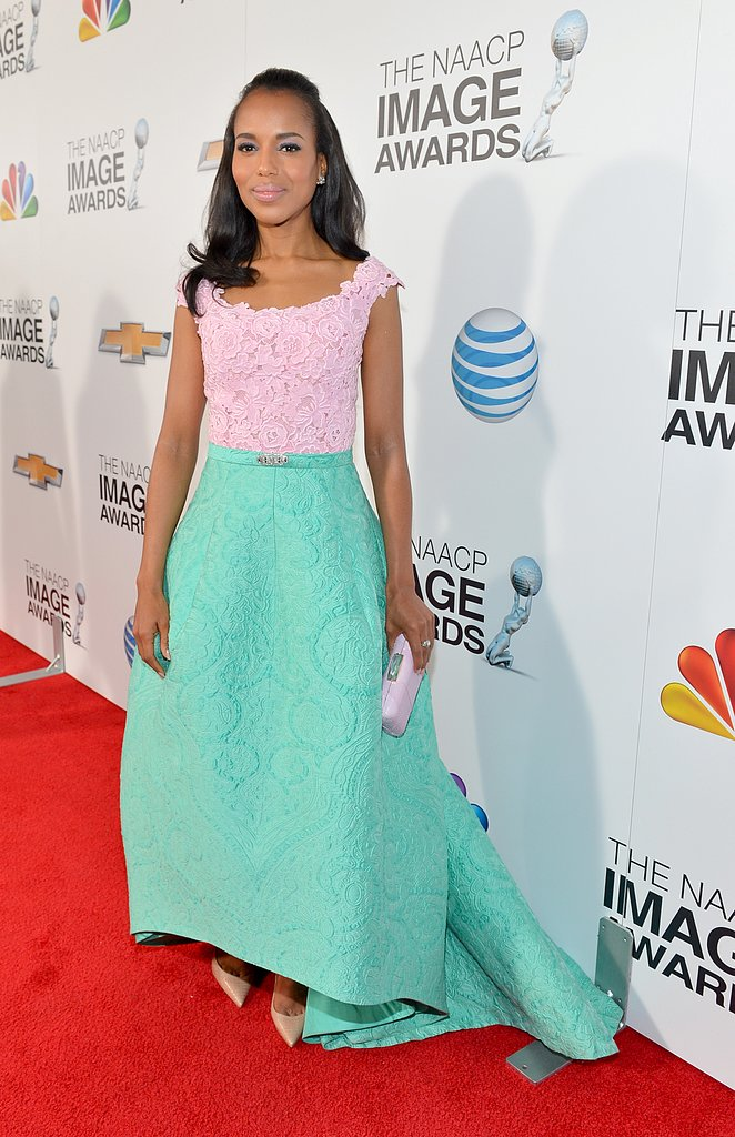 Kerry Wins Big at the NAACP Awards with Halle and More