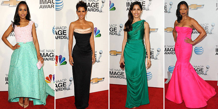 Halle, Freida, Kerry, and Garcelle All Wow at the NAACP Image Awards