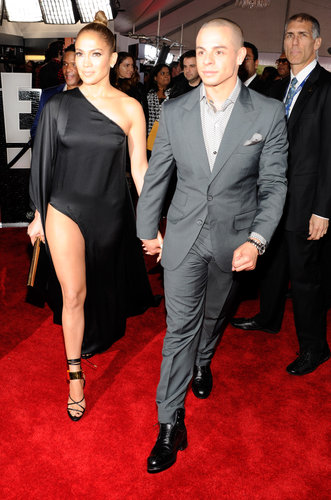 Jennifer Lopez and Casper Smart took to the red carpet together.
