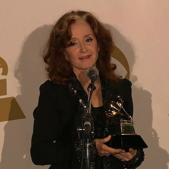 Bonnie Raitt Interview Backstage at Grammy Awards | Video