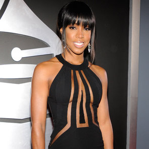 See Kelly Rowland's Peek-a-boo Georges Chadra Grammys Gown