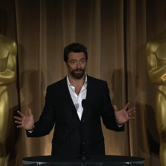 Hugh Jackman at the Oscars Luncheon | Video