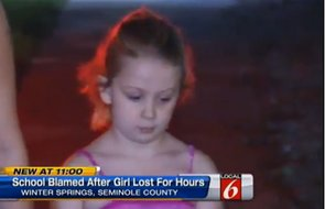 School Doesn't Notice When a Six Year-Old Student Goes Missing (VIDEO)