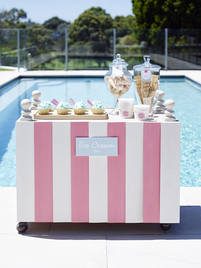 Poolside Refreshments