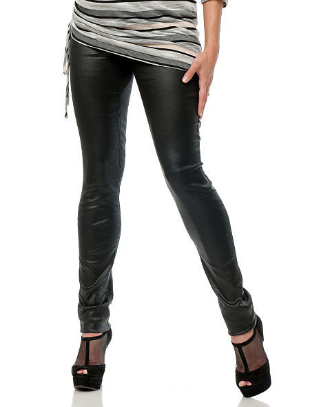 A pair of coated Slim Fit Skinny Leg Maternity Jeans ($59) are perfect for an evening on the town.